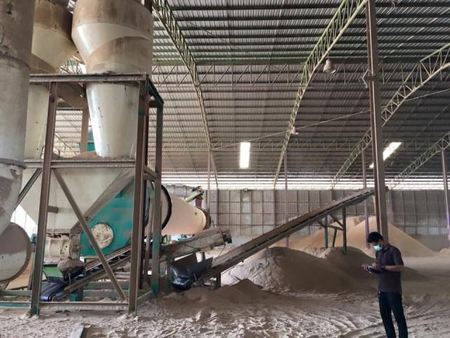 Nhà máy sản xuất viên gỗ nén